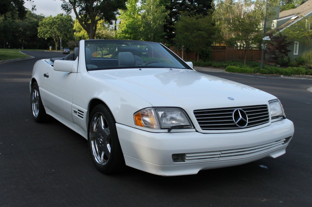 1995 Mercedes Benz Sl Class Sl600 Roadster For Sale