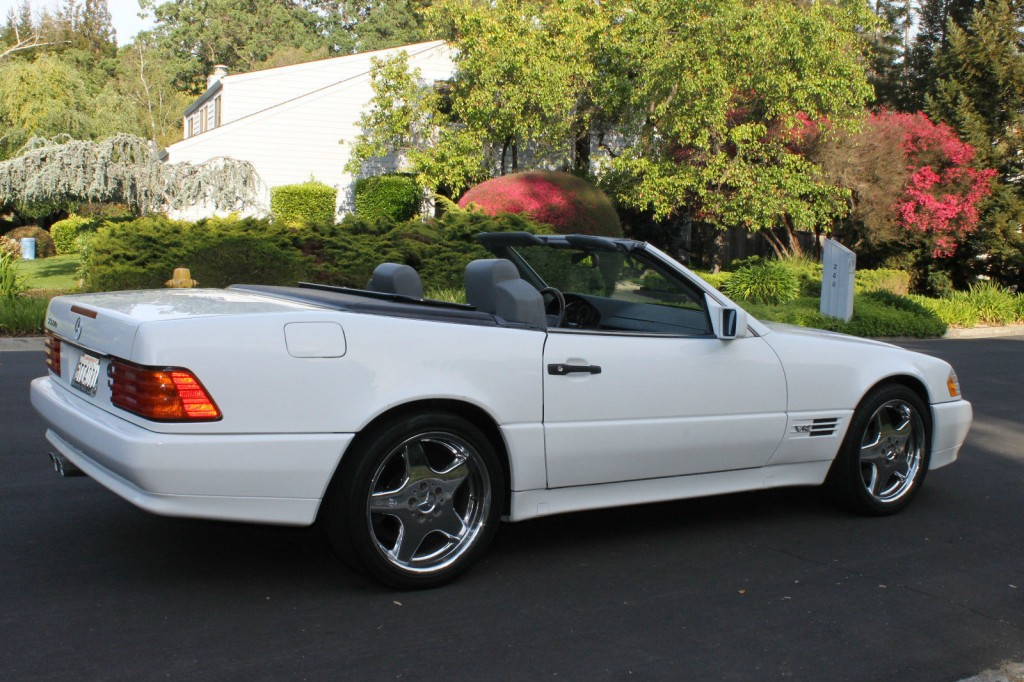 1995 mercedes benz sl class sl600 roadster for sale. Black Bedroom Furniture Sets. Home Design Ideas