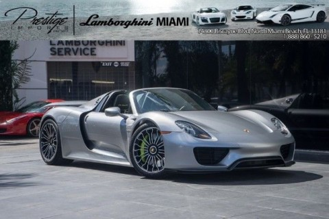 2015 Porsche 918 Spyder for sale