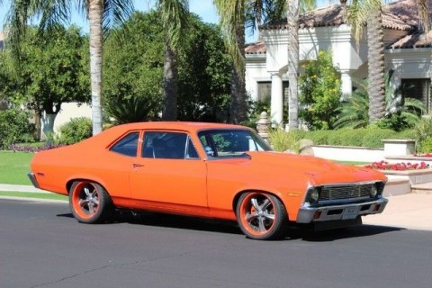 1972 Chevrolet Nova 850hp Pro Touring Custom 2 Door Coupe for sale