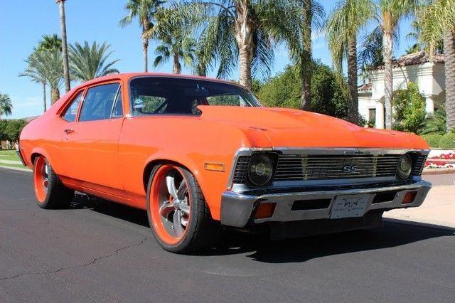 1972 Chevrolet Nova 850hp Pro Touring Custom 2 Door Coupe