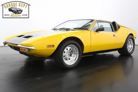 1972 De Tomaso for sale
