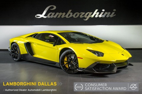 2014 Lamborghini Aventador 50th Anniv for sale