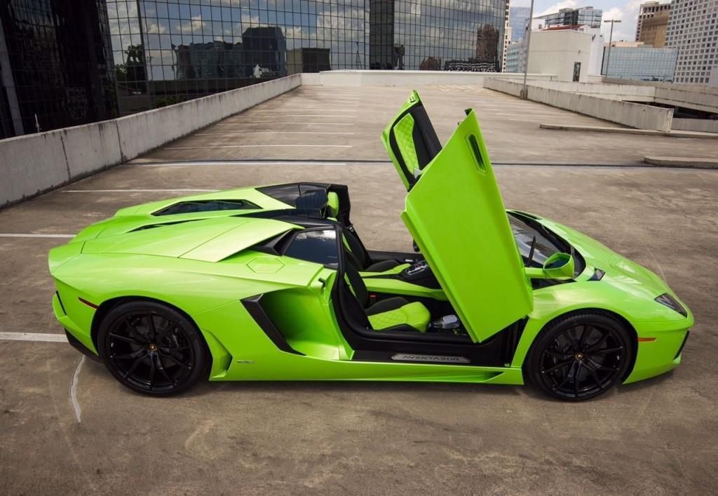 2015 Lamborghini Aventador ROADSTER