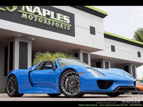 2015 Porsche 819 Spyder for sale