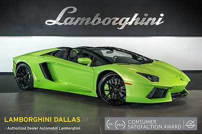 2015 Lamborghini Aventador Roadster for sale