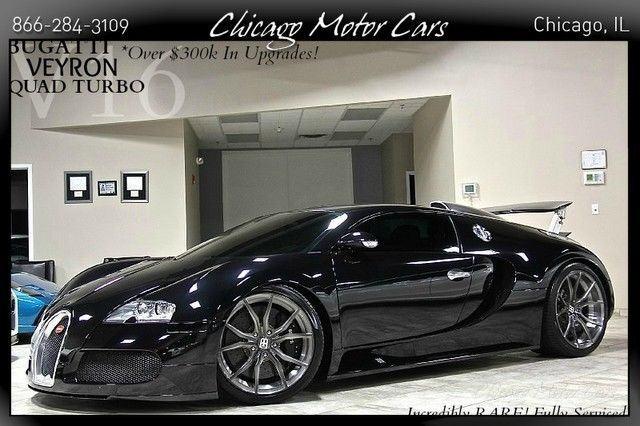 2006 Bugatti Veyron 2dr Coupe
