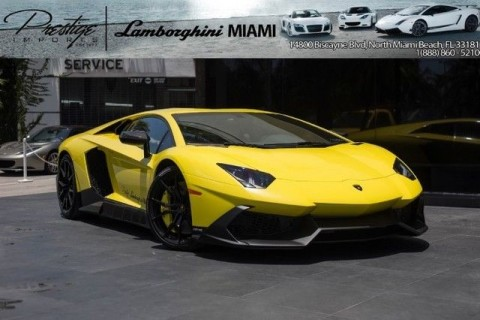 2014 Lamborghini Aventador 50th Anniversario for sale