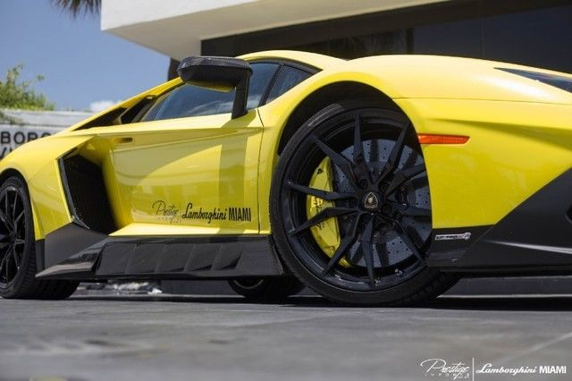 2014 Lamborghini Aventador 50th Anniversario