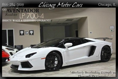 2015 Lamborghini Aventador 2dr Roadster for sale