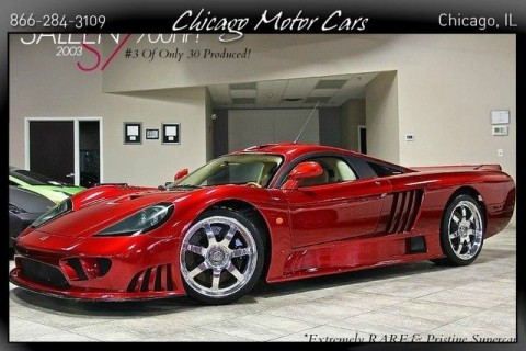 2003 Saleen S7 Coupe RARE Dark Red! 7.0L V8 Engine for sale
