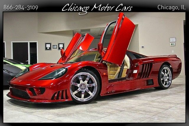 2003 Saleen S7 Coupe RARE Dark Red! 7.0L V8 Engine