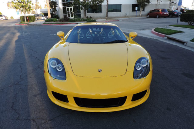2005 Porsche Carrera GT CGT in Rare Fayence Yellow Highly Collectible