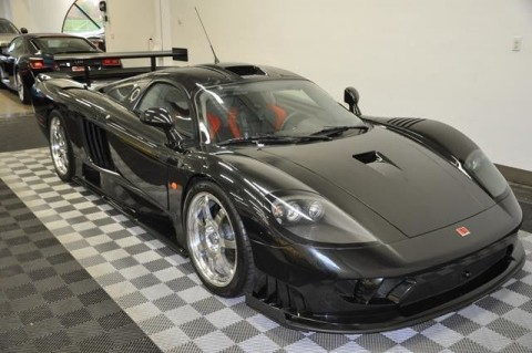 2005 Saleen S7 Competition Black Metallic Charcoal Leather Inter for sale