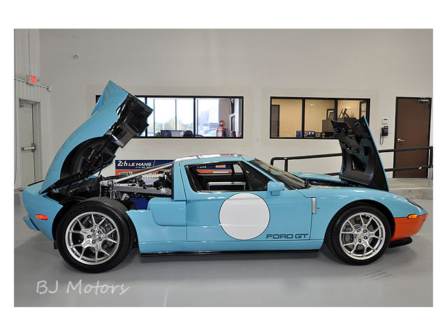 2006 Ford GT GT 40 Heritage 800 Miles