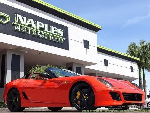 2011 Ferrari 599 SA Aperta F1 Rosso Dino for sale