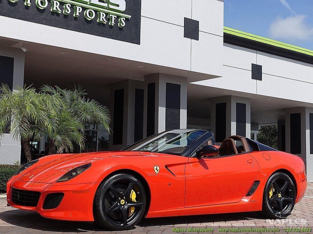 2011 Ferrari 599 SA Aperta F1 Rosso Dino