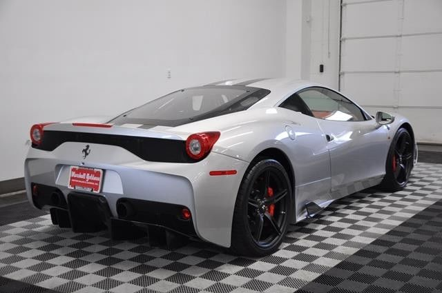 2014 Ferrari 458 Speciale Argento Nurburgring Silver Black/red Leather