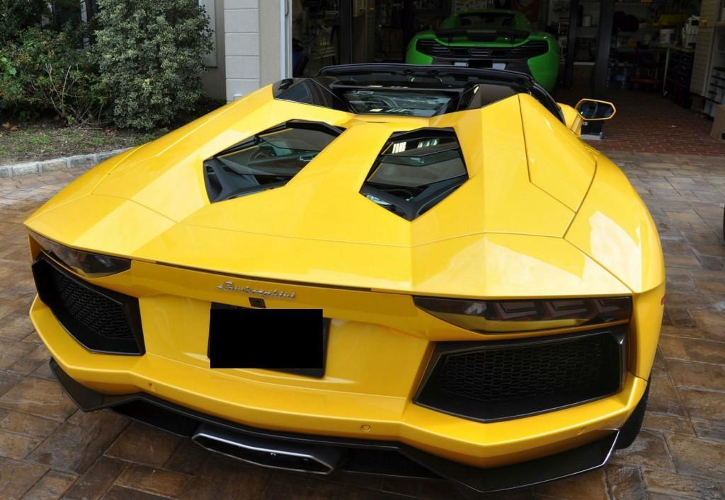 2014 Lamborghini Aventador Lp700 Roadster