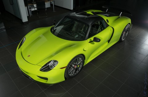 2015 Porsche 918 Spyder Weissach PKG Brand NEW for sale