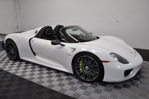2015 Porsche 918 Spyder Weissach Pkg for sale