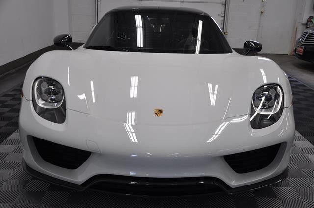 2015 Porsche 918 Spyder Weissach Pkg