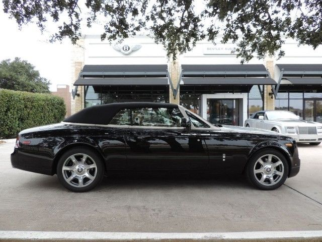 2015 Rolls Royce Phantom Diamond Black/moccasin Teak Decking