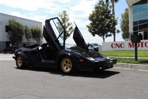 1988.5 Lamborghini Countach LP5000 QV / Collector Investment Grade for sale