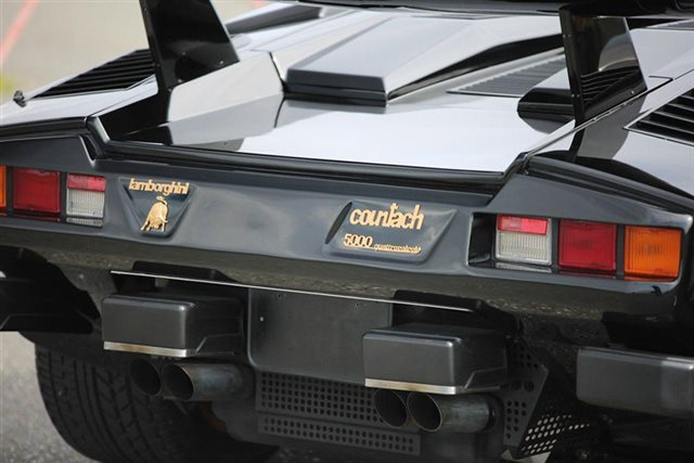 1988.5 Lamborghini Countach LP5000 QV / Collector Investment Grade