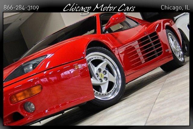 1995 Ferrari F512 M Testatrossa #58 of 75 EVER Produced Incredible 5Spd SERVICED