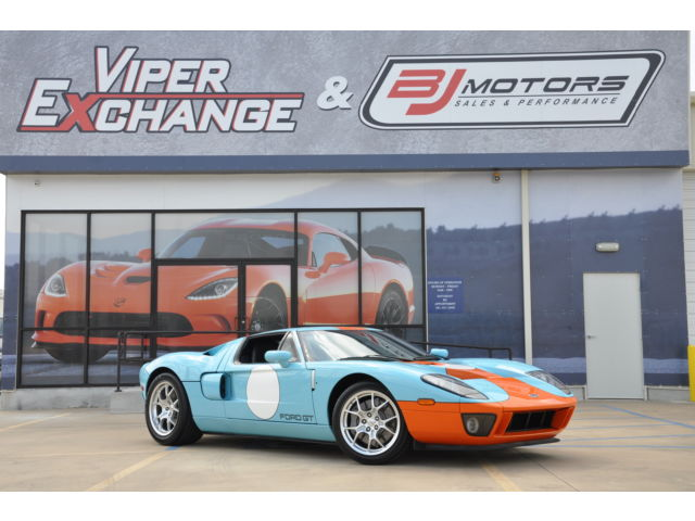 2006 Ford GT GT 40 Heritage 800 Miles Collector's Dream Car