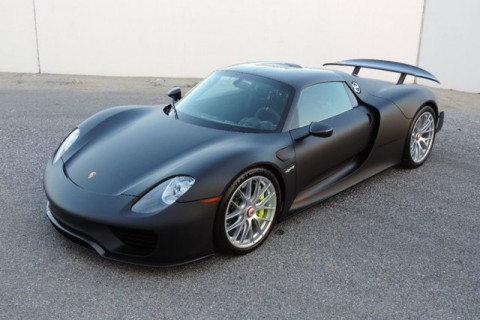 2015 Porsche 918 Spyder Weissach Package for sale