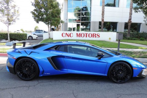2016 Lamborghini Aventador Aventador SV in Blue Nethus for sale