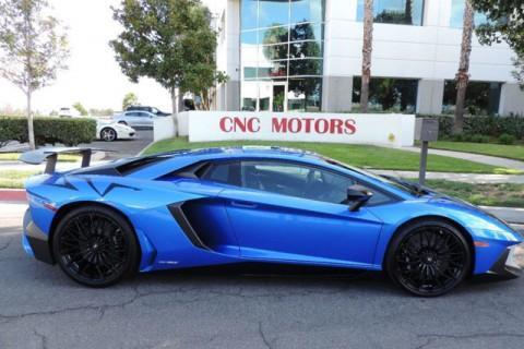 2016 Lamborghini Aventador Aventador SV in Blue Nethus for sale