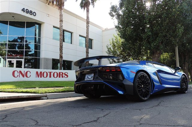 2016 Lamborghini Aventador Aventador SV in Blue Nethus