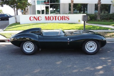 1965 Jaguar D Type All Aluminum Recreation by Tempero for sale
