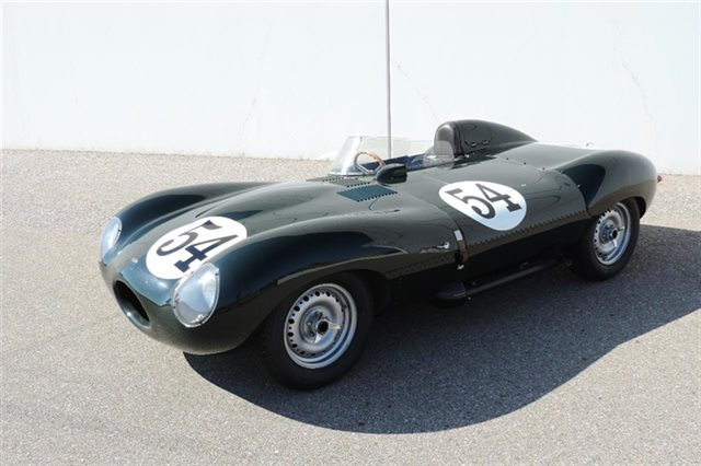1965 Jaguar D Type All Aluminum Recreation by Tempero