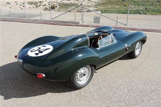 1965 Jaguar D Type All Aluminum Recreation by Tempero