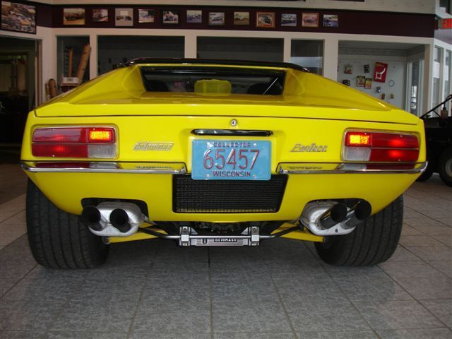 1972 De Tomaso Pantera Pre L