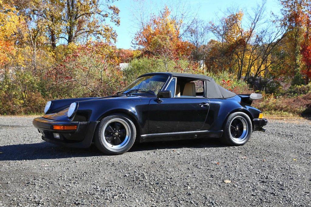 1987 Porsche 911 Factory Turbo Look. M491