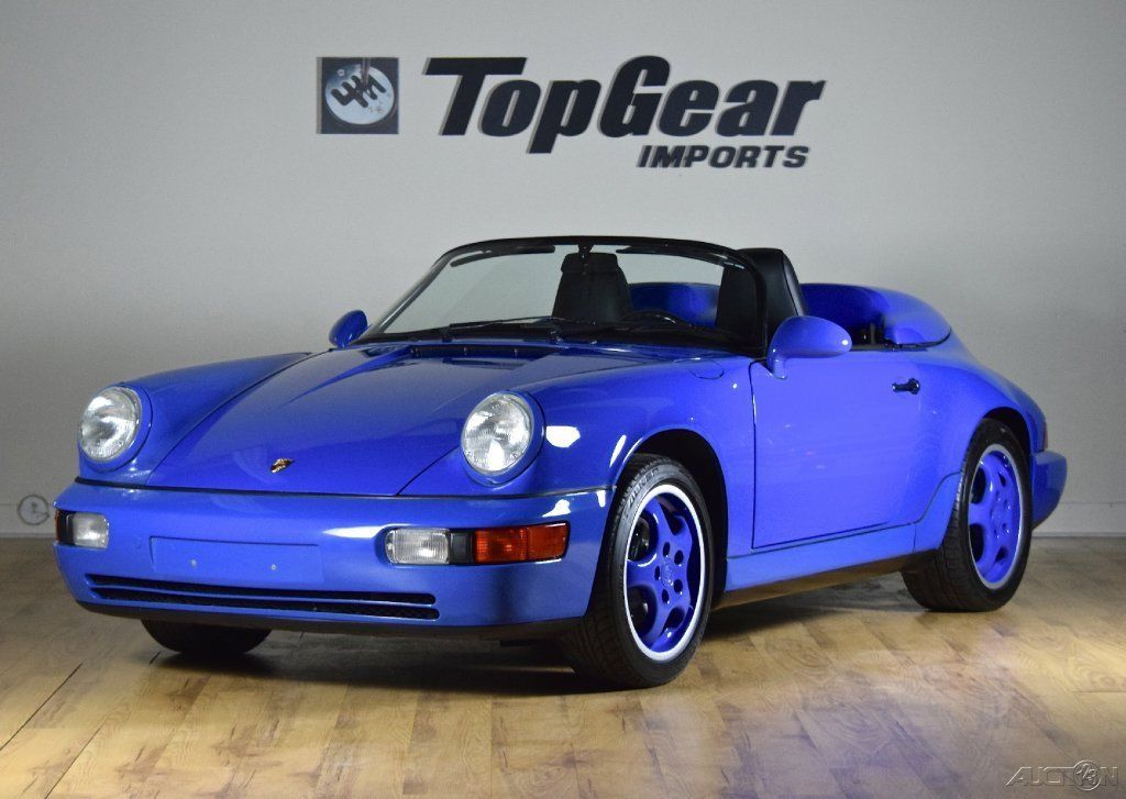 1994 Porsche 911 Speedster Rare Maritime Blue For Sale