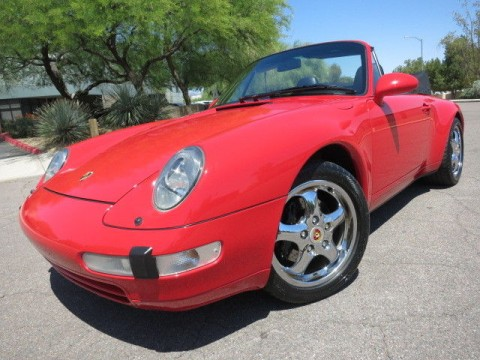 1998 Porsche 911 Carrera 993 Cabriolet for sale