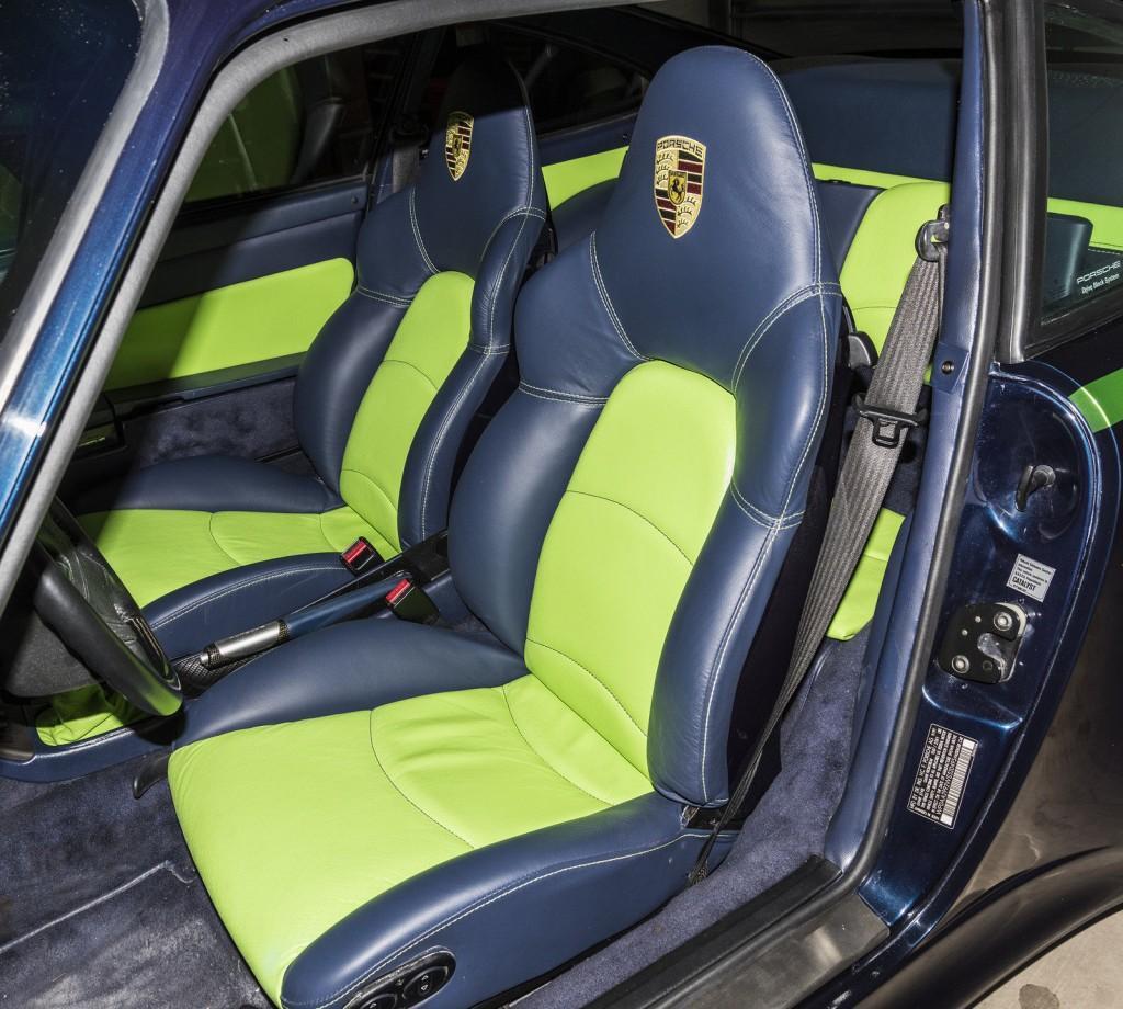 1998 Porsche 911 Interior: 1998 Porsche 911 Carrera S 993 Customized For Sale