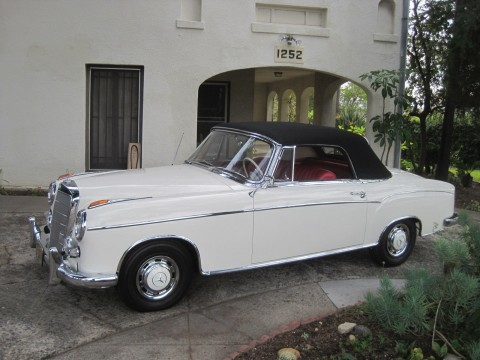 1960 Mercedes Benz 220 SE (One Family Ownership) for sale