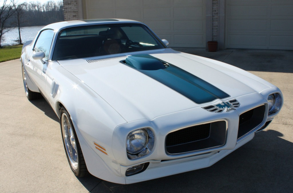 1970 Pontiac Firebird Trans Am Restored on 2000 ford mustang frame