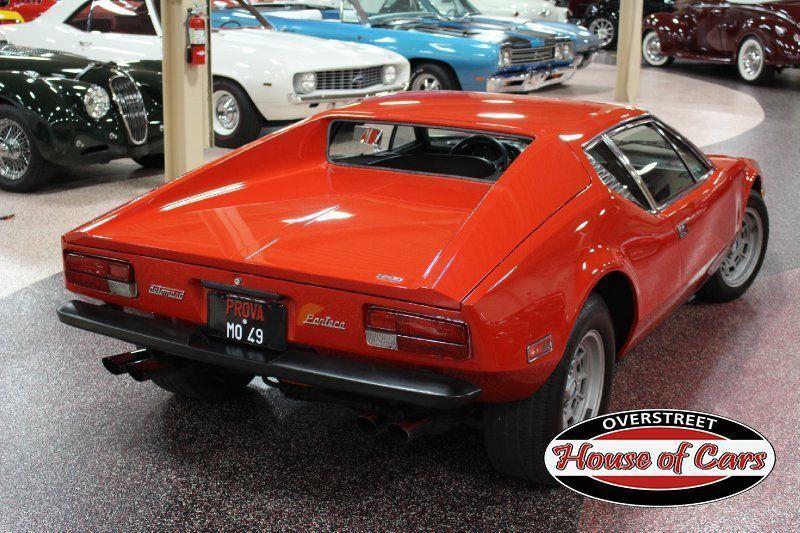 1974 De Tomaso Pantera #'s Matching