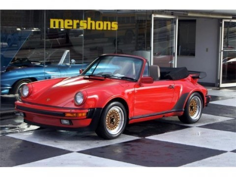 1985 Porsche 911 Carrera Cabriolet for sale