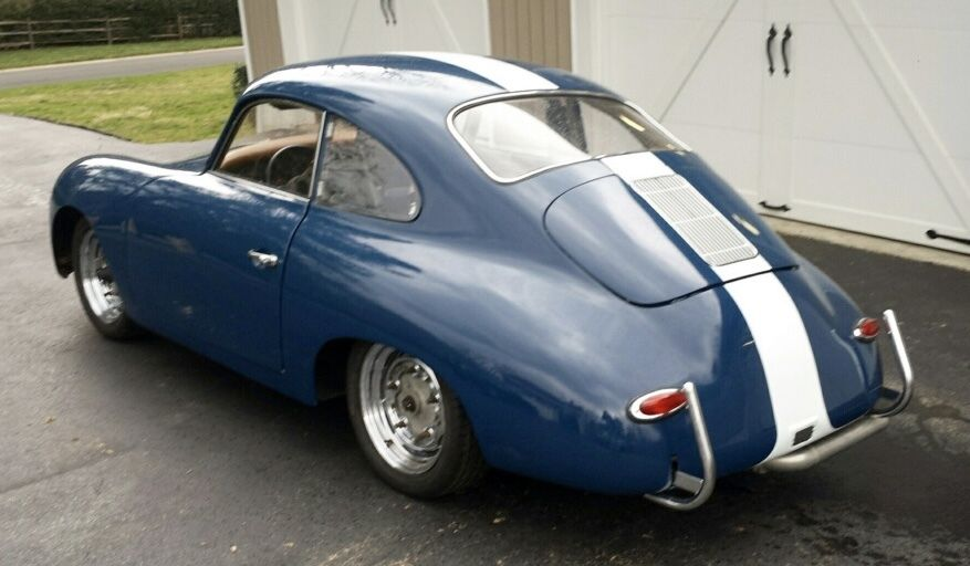 1958 Porsche 356 A Coupe   Vintage Race Car VSCCA