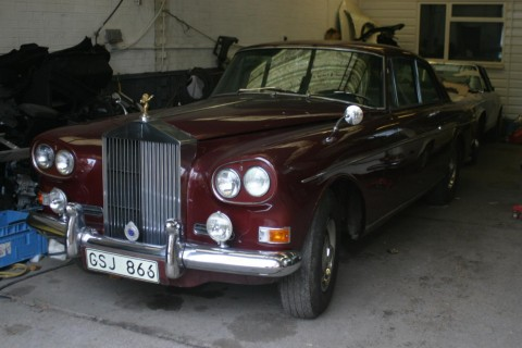 1965 Rolls Royce Silver Cloud 3 MPW Coupe 'Chinese Eye' for sale