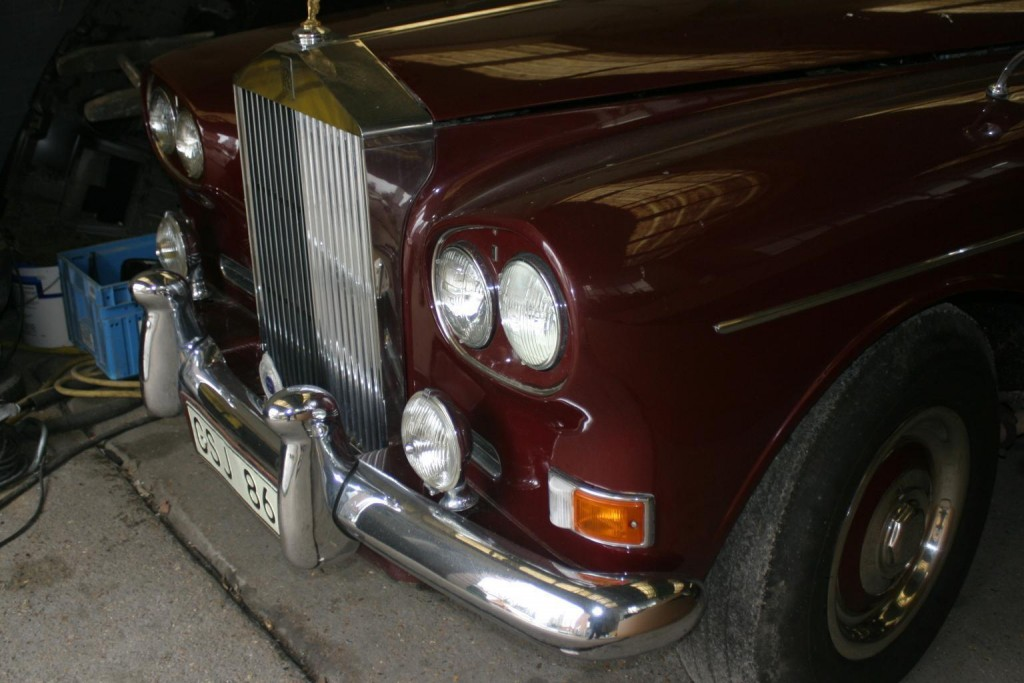 1965 Rolls Royce Silver Cloud 3 MPW Coupe 'Chinese Eye'